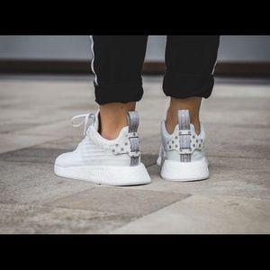 2478ab3e7 adidas Shoes - Adidas NMD R2 Primeknit White w Polka Dots